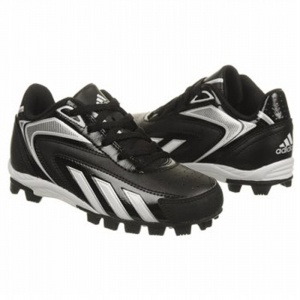 SALE - Adidas EC1287488 Baseball Cleats Kids Black - Was $35.00. BUY Now - ONLY $31.50