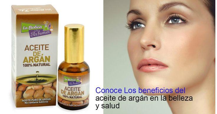 Beneficios del aceite de argán para la belleza y salud