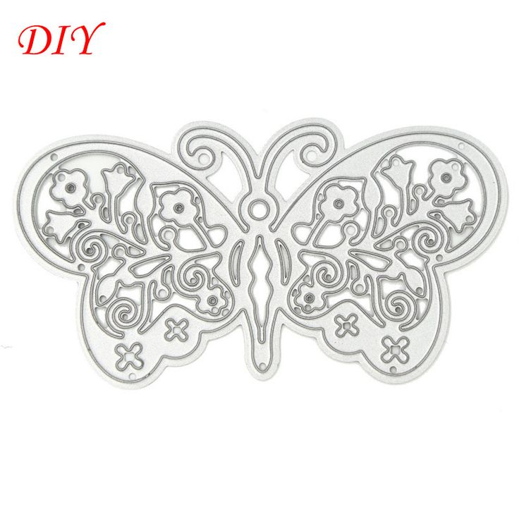 """New arrival """"Beauty butterfly"""" design scrapbooking dies metal for DIY photo album Decorative Embossing paper Cards ER-027"""