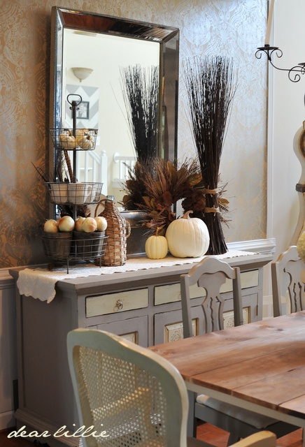 2114 best thanksgiving images on pinterest centerpieces for Dining room decorating ideas for thanksgiving