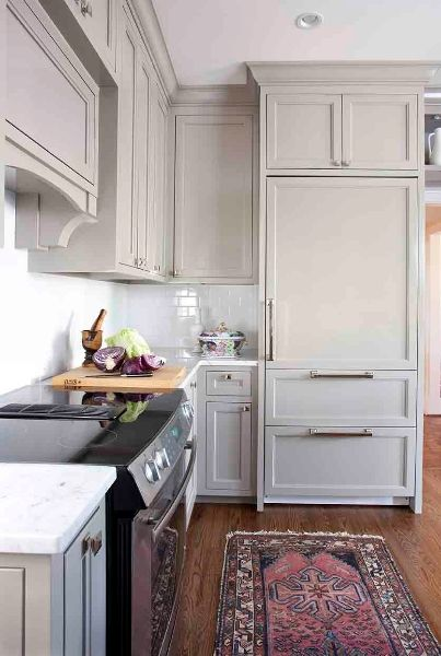 Kitchen Renovation! Hidden Appliances, Custom Millwork, Custom Design by www.terracottadesignbuild.com