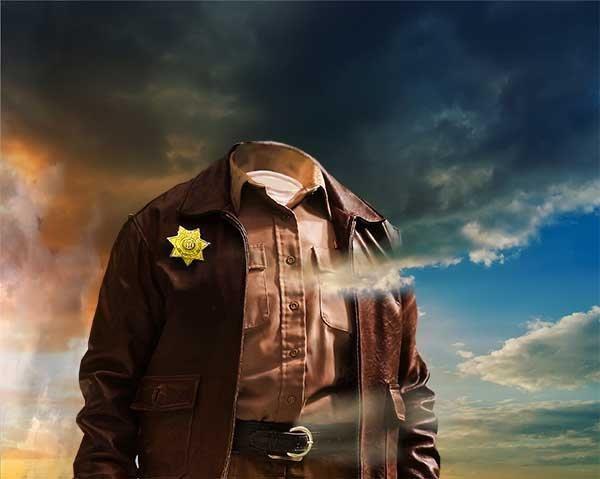 Шляпа шерифа psd