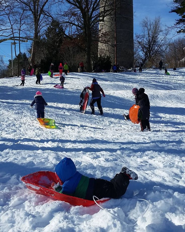 We've updated our handy-dandy map of the best sledding spots in the city to help you get your sled on. No, there aren't a ton of hills in Center City, but there are the Rocky steps at the Philadelphia Museum of Art for the bold dare devils.