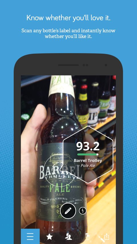 Next Glass Finds Beer and Wine That Better Match Your Taste | Drippler - Apps, Games, News, Updates & Accessories
