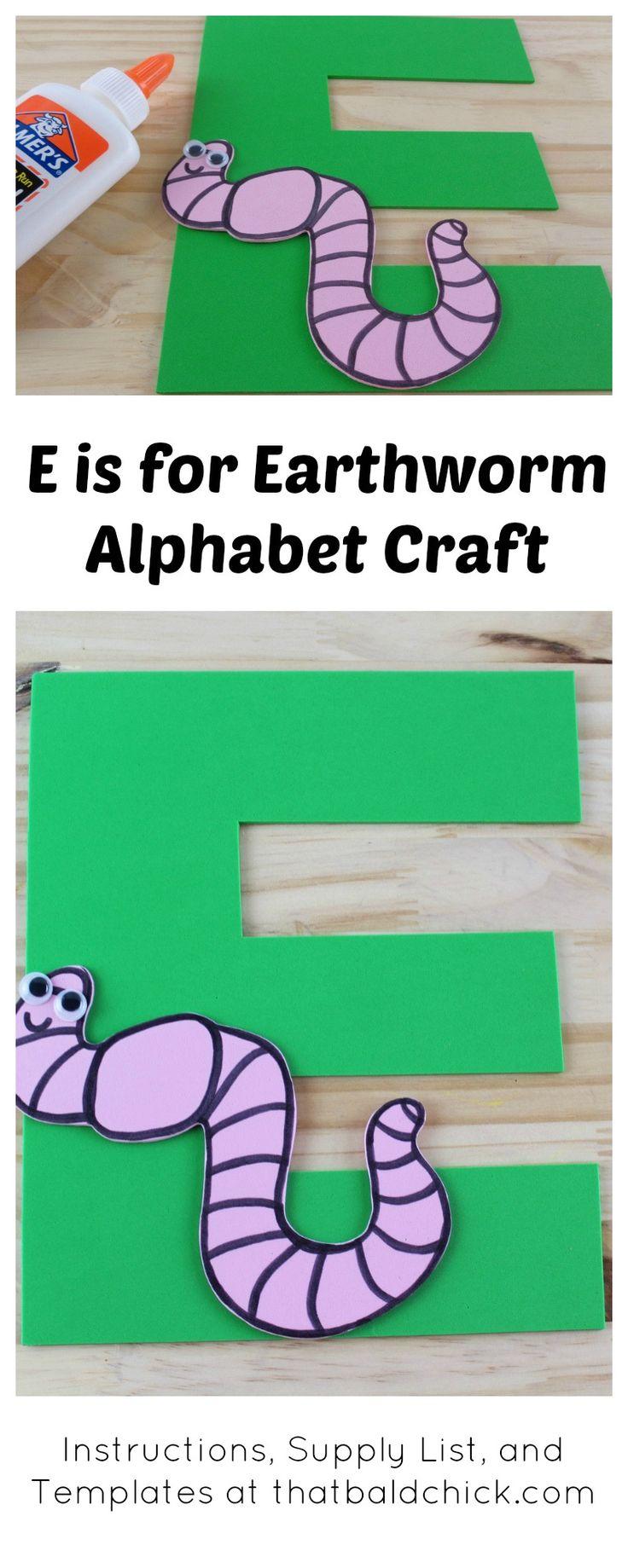 53 best Letter E images on Pinterest | Alphabet crafts, Preschool ...