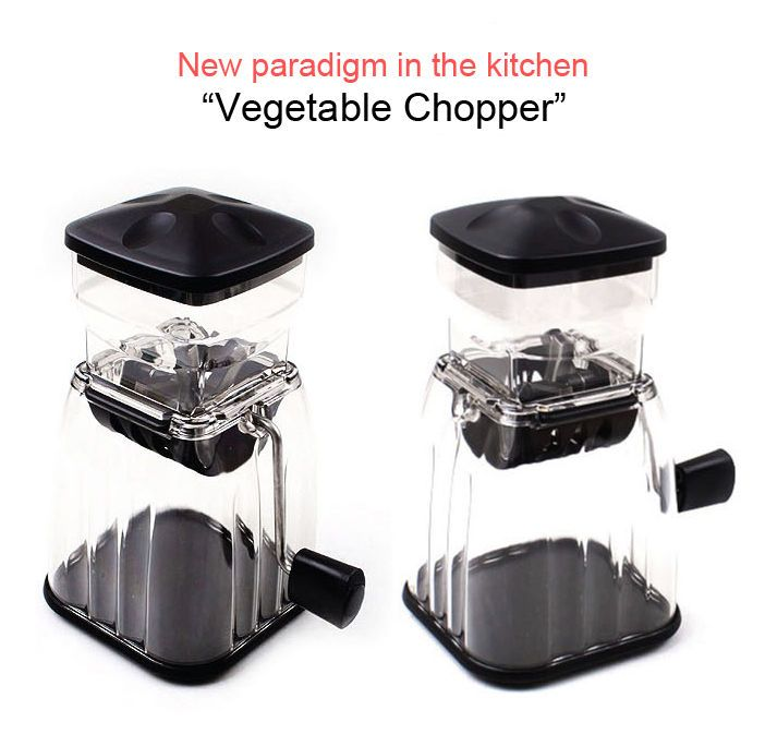 Food Vegetable Chopper Cube Cutter Slicer Dicer Kitchen Tool- Black, Green, Wine #QueensLife