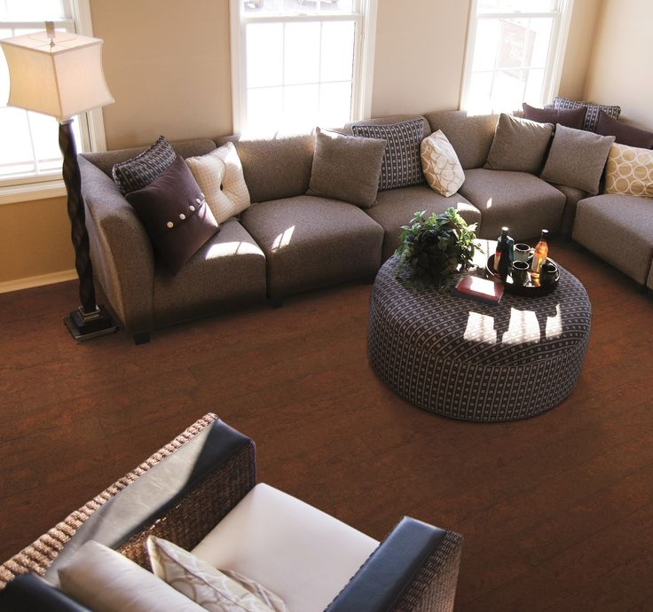 Live In The Lap Of Luxury With Crown Lake Majestic Cork Plank Flooring Reminiscent Traditional Hardwood This Features Beautiful