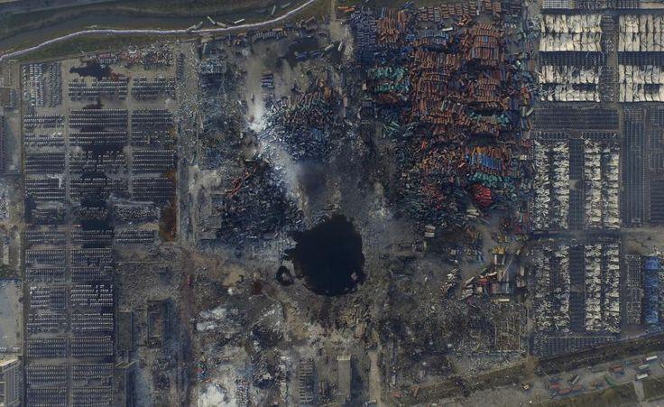 Devastation of Tianjin | jp.reuters.com