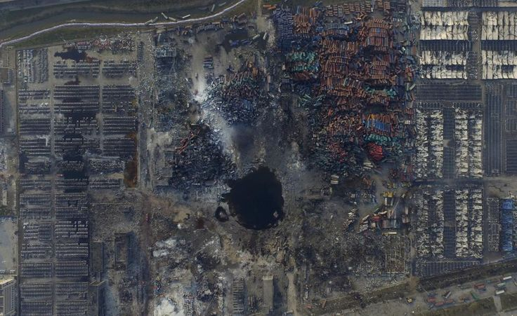 Devastation of Tianjin | jp.reuters.com