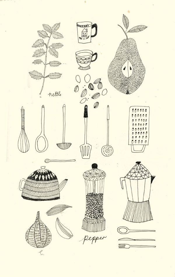 Anthology Magazine   Artwork   Illustrations by Katt Frank