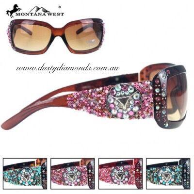 Bead & Bling Longhorn Sunglasses sold by Dusty Diamonds Australia Www.dustydiamonds.com.au