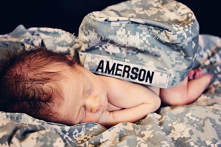 #army #newborn