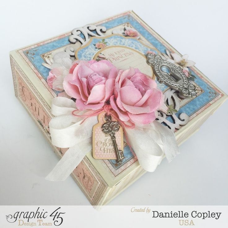 Gilded Lily Boxed Album and Tutorial using G45 Mixed Media Box