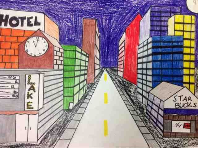 One Point Perspective Art Lessons 4th Grade Google