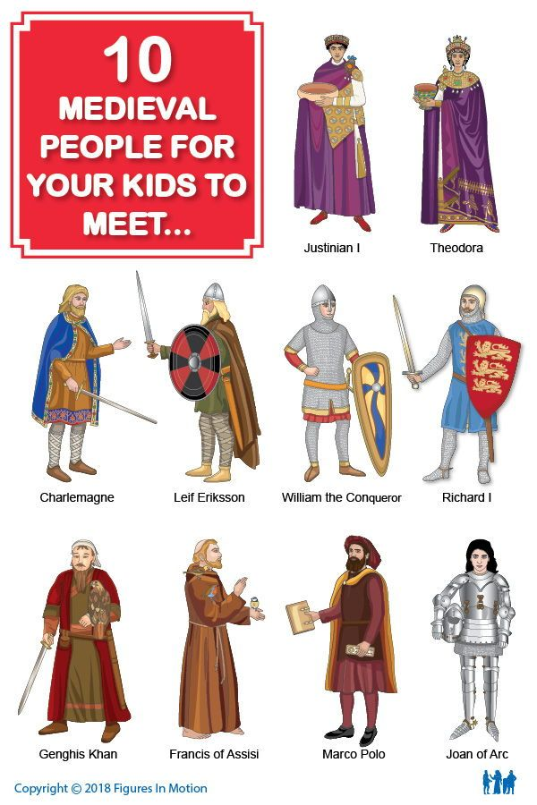 Famous Figures Of Medieval Times Middle Ages History Medieval