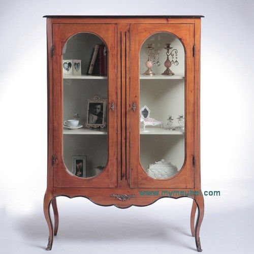 Anrique Glass Display Cabinet