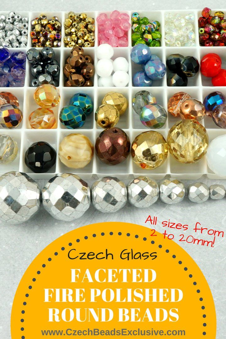 ?? Czech Glass Faceted Fire Polished Round Beads  Different Popular Colors & Finishes! All sizes from 2mm to 20mm! - Buy now with discount!  Hurry up - sold out very fast! www.CzechBeadsExclusive.com/+faceted+round SAVE them! ??Lowest price from manufacturer! Get free gift! 1 shipping costs - unlimited order quantity!  Worldwide super fast ?? shipping with tracking number! Get high wholesale discounts! Sold with  at http://www.CzechBeadsExclusive.com #CzechBeadsExclusive #czechbeads #bead…