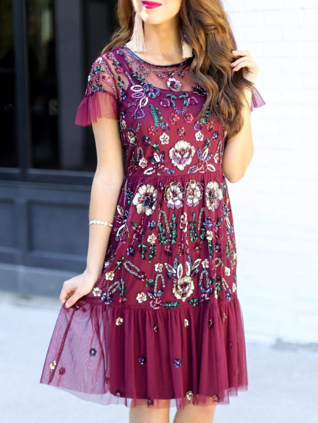 Sequin Summer Dress