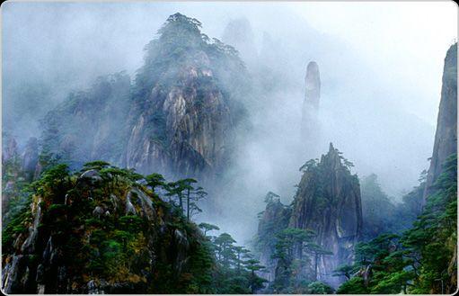 Sanqingshan, China