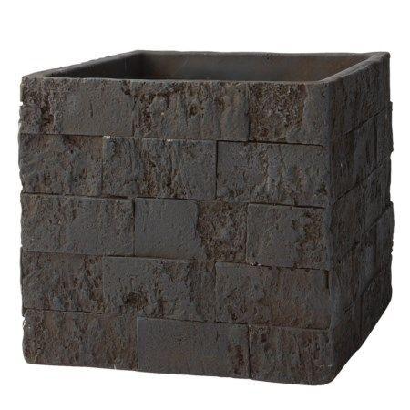 Doniczka ceramiczna Brick - sprawdź na http://www.przytulnie.com/doniczka-ceramiczna-brick-id-55.html