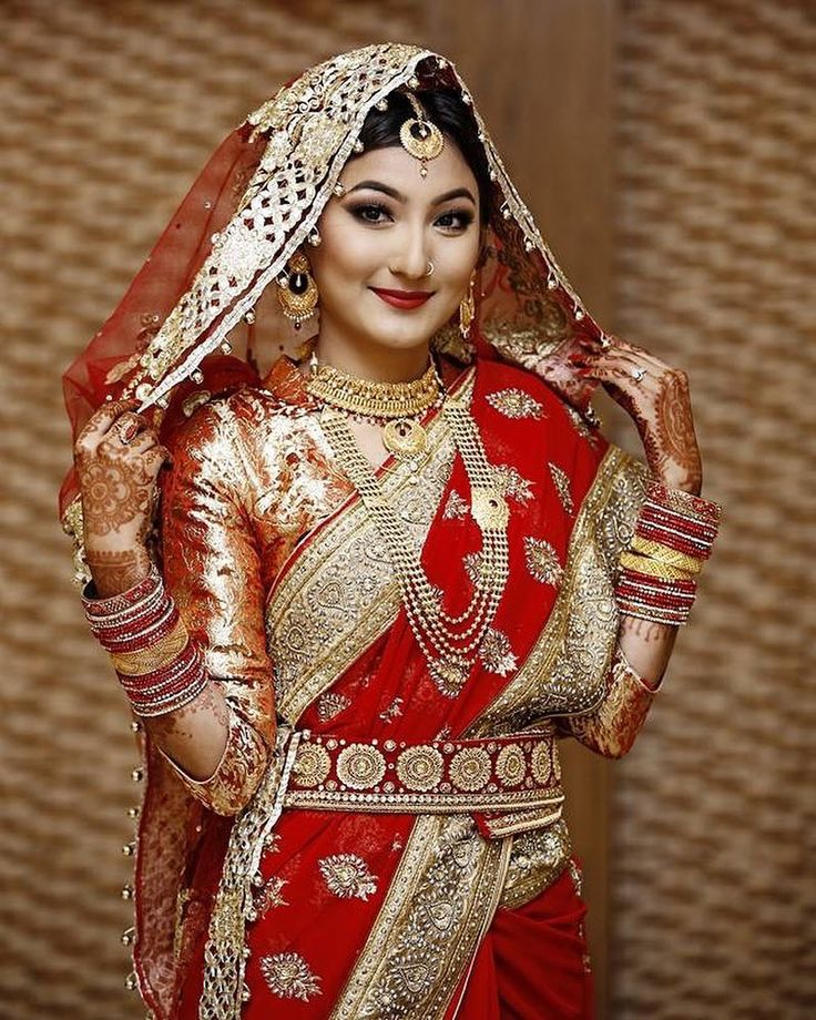 14 Best Nepali Bridal Wears Images On Pinterest