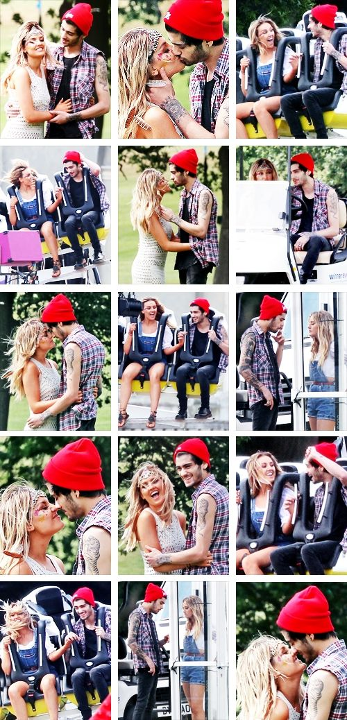 Zerrie at Perrie's birthday ❤❤ DATS MAH OTP RIGHT THERE