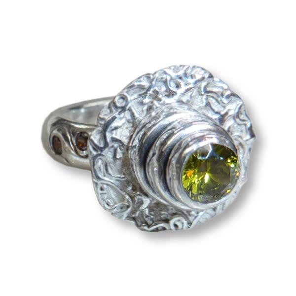 Cake ring | Art Styles jewelry | zilver | Studio Art Styles