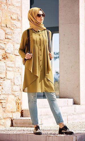 Hijab Fashion 2016/2017: F7217 2  Hijab Fashion 2016/2017: Sélection de looks tendances spécial voilées Look Descreption F7217 2