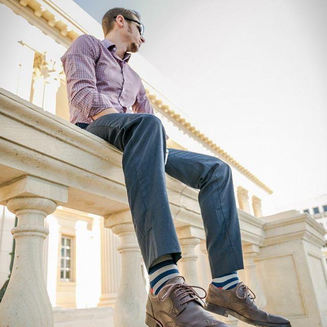 Stylish non-stinky socks. Game changer.