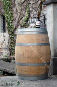 Holzfass, Fass, Barrique Eichenfaß altes Weinfass, Stehtisch im Weinkeller 225 L