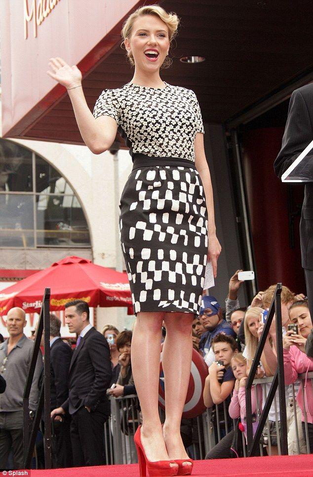 Screen Siren Scarlett Johansson Slips Her Curves Into A