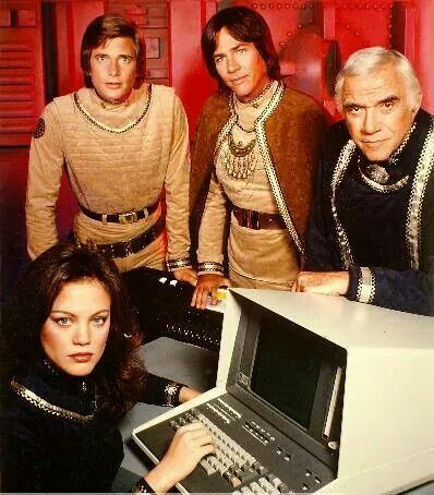 I adore my 64 - my Commodore 64. I used a terminal just like this when I worked at a daily newspaper in the 1980s. Battlestar Galactica 1978