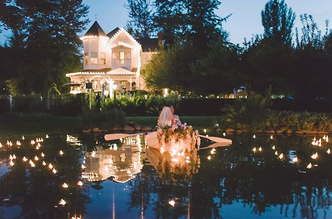 Outdoor Wedding Venues Washington State
