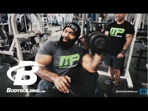 CT Fletcher's Armed Warfare Arm Workout - Bodybuilding.com WARNING-- foul language!  He's Intense that random arm workout looks brutal