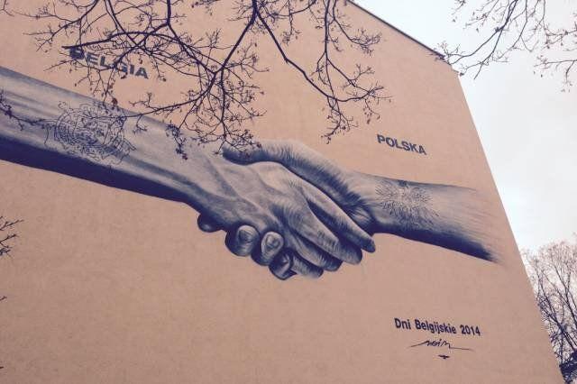 #warsaw #mural #streetart #noirartist #belgium