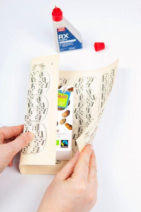 Hildas hem: PYSSELTIPS: Gör egna presentpåsar