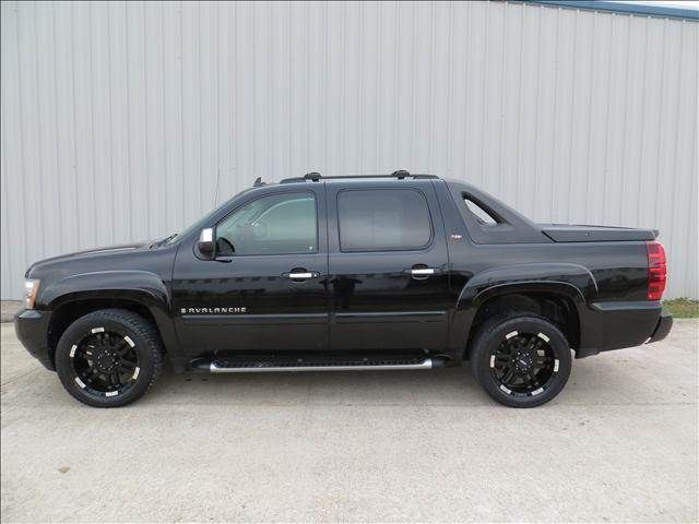 2008 Chevrolet Avalanche Lt2 2wd Blacl Black Wheels In Houston