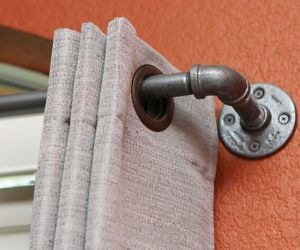 Industrial Curtain Rod #LavaHot http://www.lavahotdeals.com/us/cheap/industrial-curtain-rod/125761