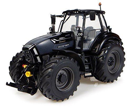 Universal Hobbies – Uh4917 – Tracteur Deutz-fahr 7250 Ttv Agrotron – Black Warrior – Echelle 1/32: Tracteur Deutz fidèle au modèle original…