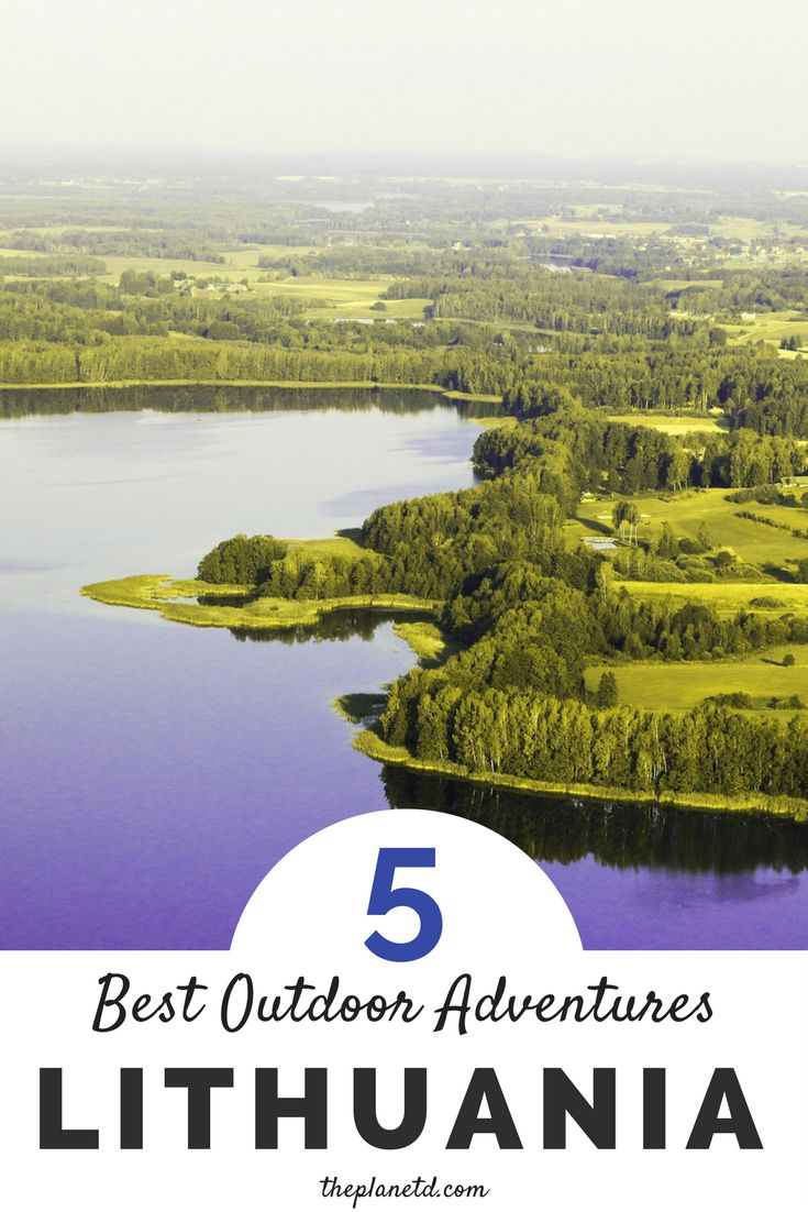 Lithuania is a northern European country bordered by two Baltic neighbors, Latvia and Estonia. Lithuania remains fairly undiscovered by many, and is the ultimate Europe destination for those looking to get off the beaten path. This guide includes five of the best outdoor adventures in Lithuania, from castle hopping to treetop walking. | Blog by the Planet D #Lithuania #Europe
