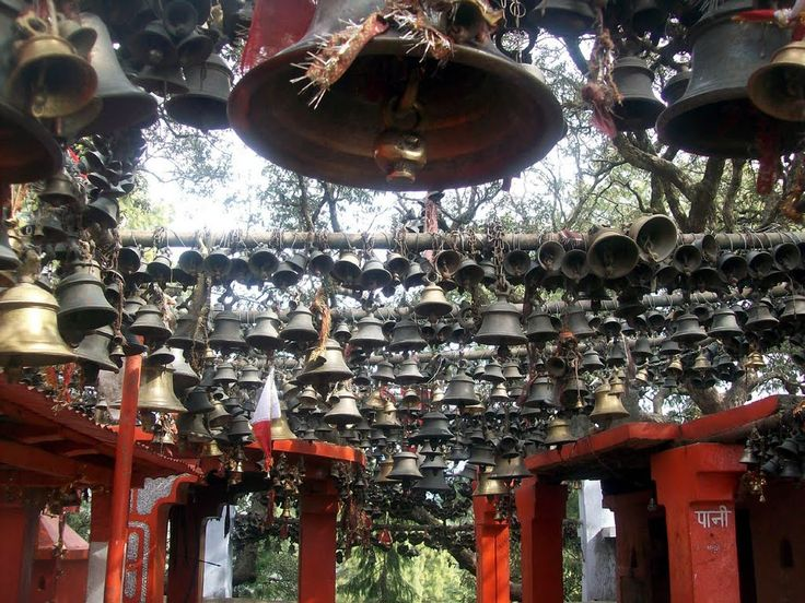 Temple Bells all the way!! Ghorakhal Temple, Nainital Mahargaon Uttarkhand