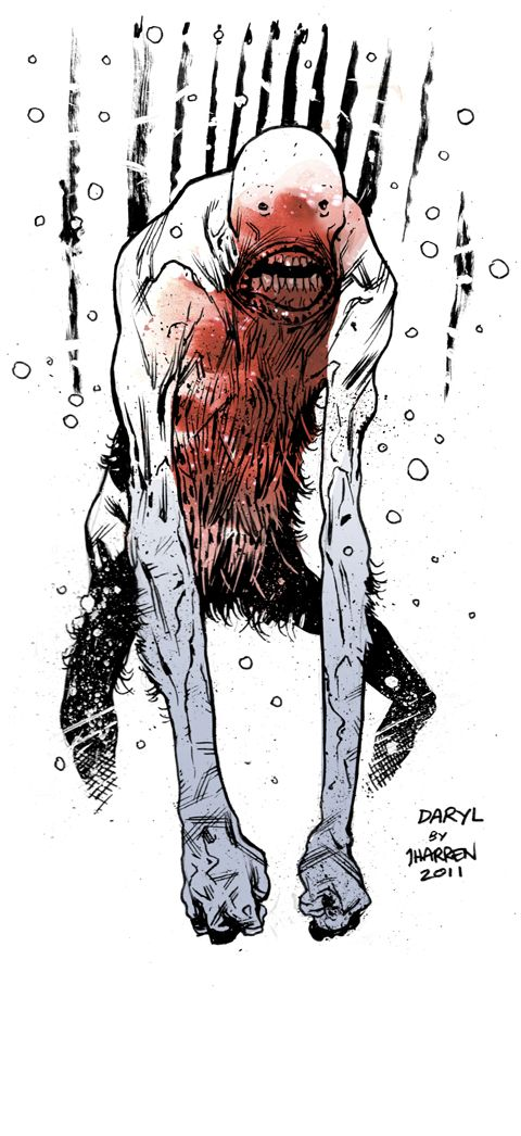 Daryl by JHarren on DeviantArt   ★ || CHARACTER DESIGN REFERENCES™ (https://www.facebook.com/CharacterDesignReferences & https://www.pinterest.com/characterdesigh) • Love Character Design? Join the #CDChallenge (link→ https://www.facebook.com/groups/CharacterDesignChallenge) Share your unique vision of a theme, promote your art in a community of over 50.000 artists! || ★