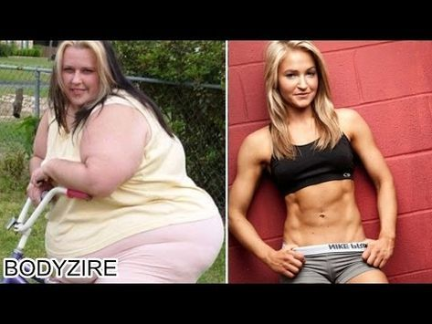 Before And After Obese Pictures : Obese To Fit Muscular Body Transformation Women Motivation Before And After