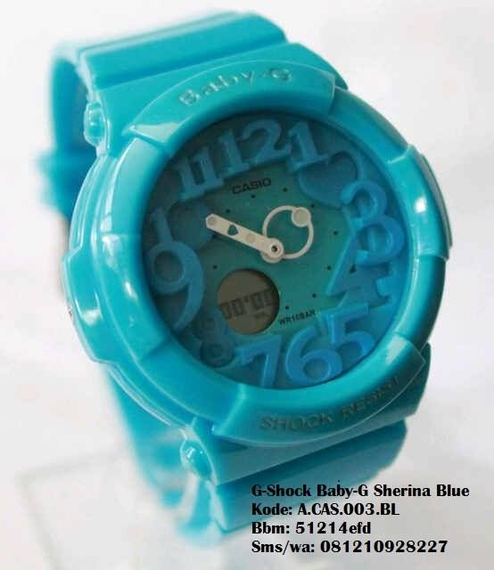 G-Shock Baby-G Sherina Spec: _ Kode barang ada pada setiap PIC – Mesin Baterey Moverement – Rubber strap – Diameter 3.5cm – Dual Time – Alarm – Stopwatch – Light – Date, Day, Am/Pm, month, Year – 19 Zone Time Big City In The World/World Time – Free G SHOCK Box Price: 190,000 Bbm: 51214efd Wa/sms: 081210928227 @jamtangan.terbaru