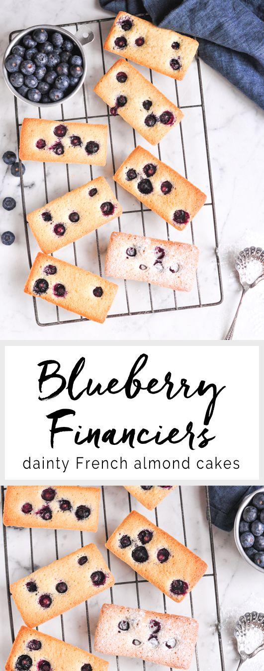Blueberry Financiers | eatlittlebird.com