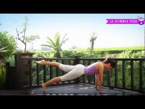 Yoga - Esercizi per gli addominali - YouTube