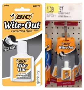 Reset! $1/1 Bic Stationary Coupon = FREE Bic Wite-Out at Target & More!  - http://www.livingrichwithcoupons.com/2013/12/reset-11-bic-stationary-coupon-free-bic-wite-out-at-target-more.html