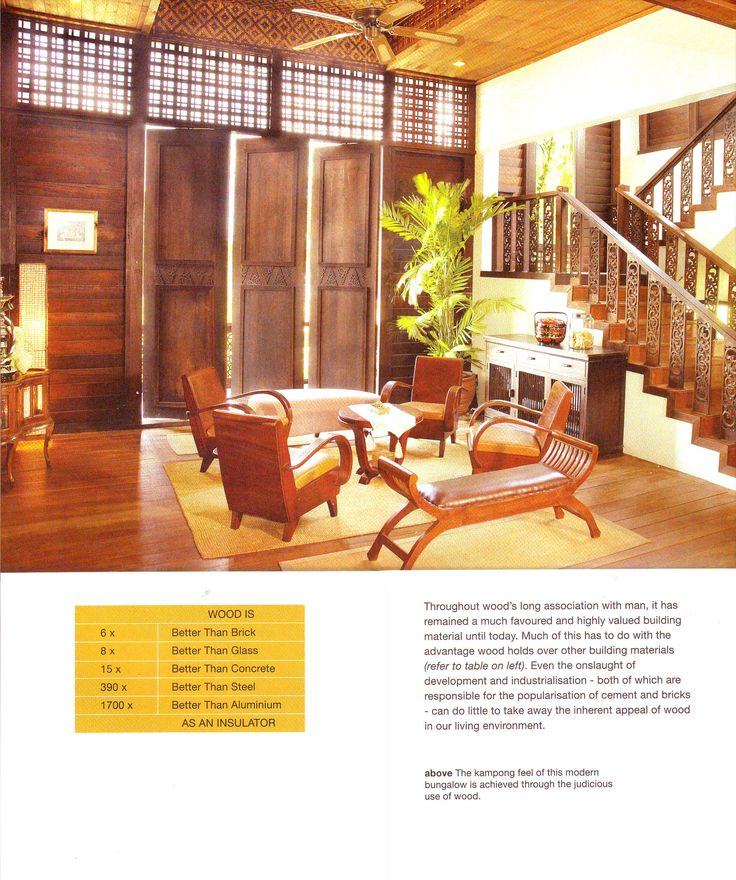Modern Bungalow With A Kampung Or Traditional Malay House Feel BungalowGarden MakeoverDesign