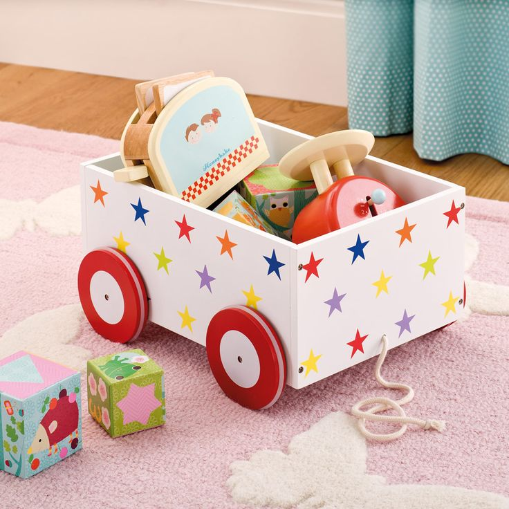 Childrens Animals Storage Box Chest 3 Kids Drawer Bedroom: Toy Boxes & Toy Storage
