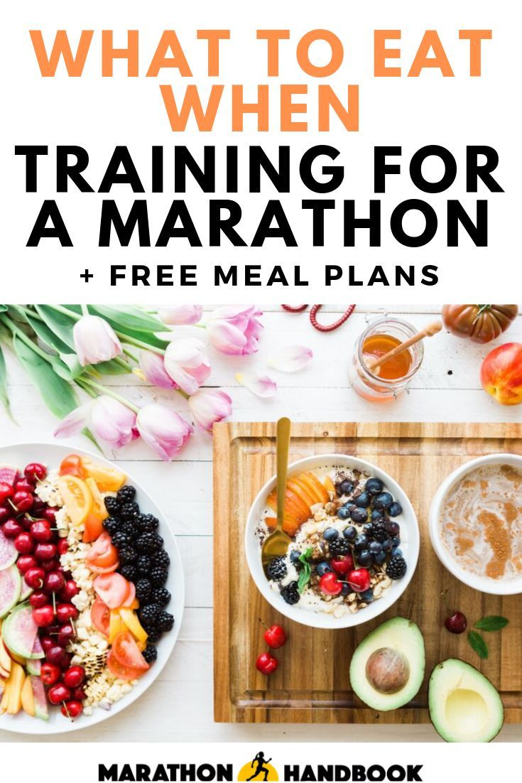 Marathon Handbook We Help Your Run Far In 2020 Running Nutrition Runners Meal Plan Running Food